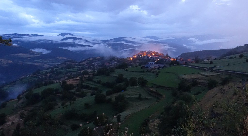 Estamariu in Catalonia in the Pyrenees