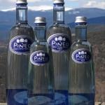 Pineo flessen 100% glas. Geen plastic flessen water
