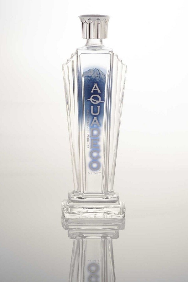 The Aqua Deco bottle comes from Canada