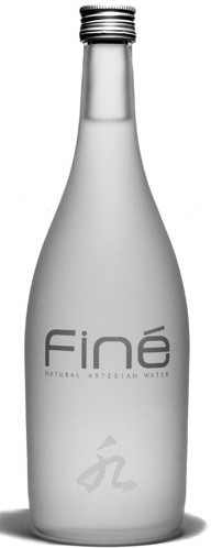 Finé, Japanese volcanic water as 1 of the most expensive waters