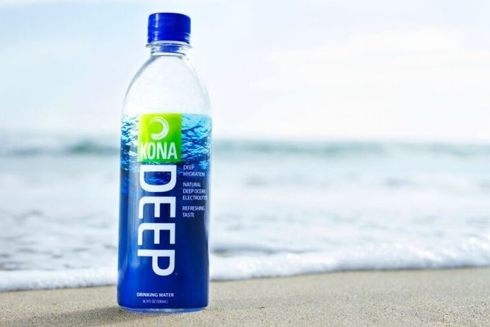 Kona Deep is Hawaiian spring water, according to studies it would hydrate faster