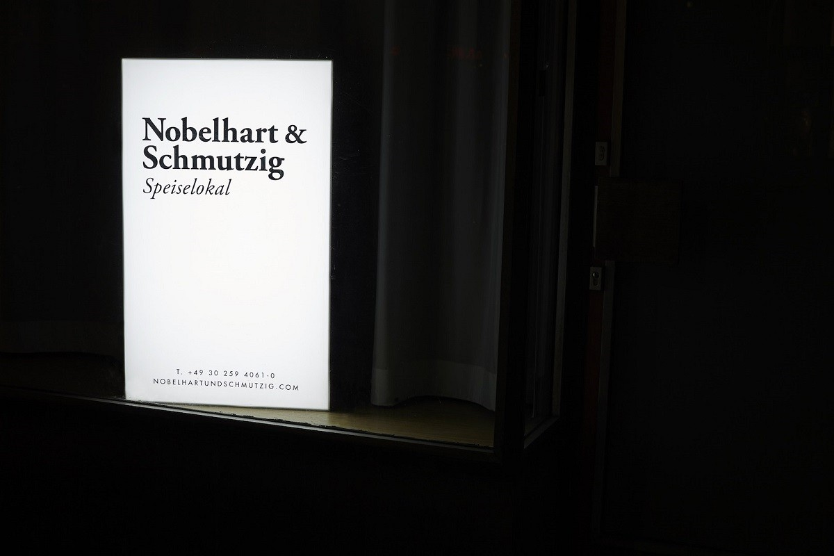Restaurant Nobelhart and Schmutzig - dine in Berlin