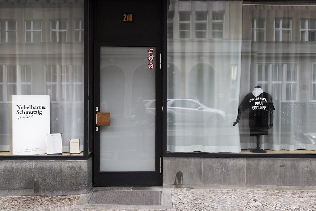 La façana del restaurant Nobelhart & Schmutzig a Berlín