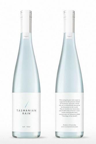 Tasmanian Rain es agua de lluvia australiana