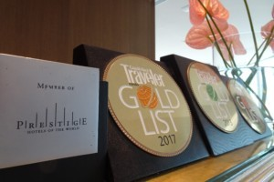 Member of prestige hotel and gold list of traveler