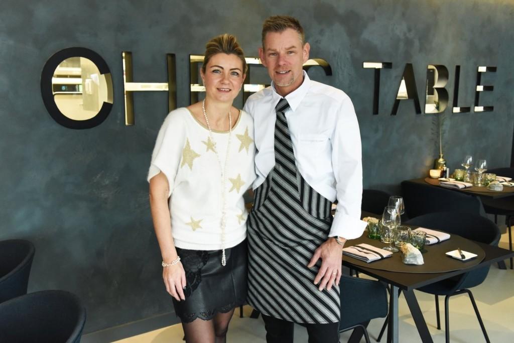"""Tanja Veyt und Dimitri Van Berlo von """"Chef's Table"""" in Burcht"""
